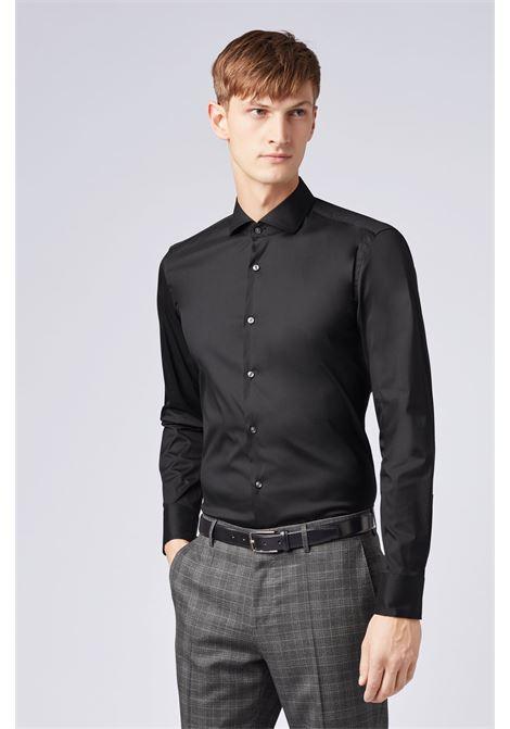 Slim-fit shirt in stretch poplin BOSS | Shirts | 50260064001