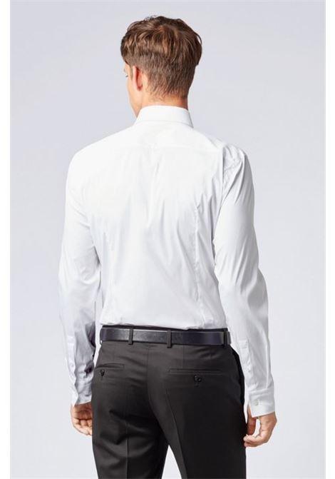 Slim fit shirt in stretch poplin BOSS | Shirts | 50260064100