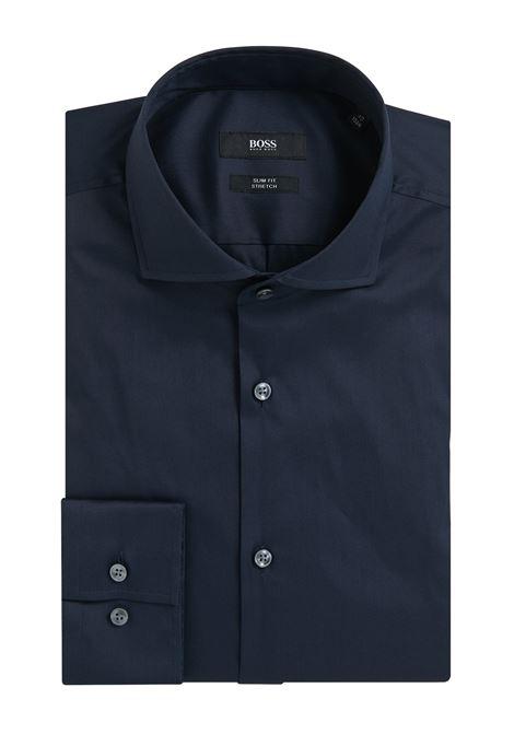 Slim-fit shirt in stretch poplin BOSS | Shirts | 50260064410