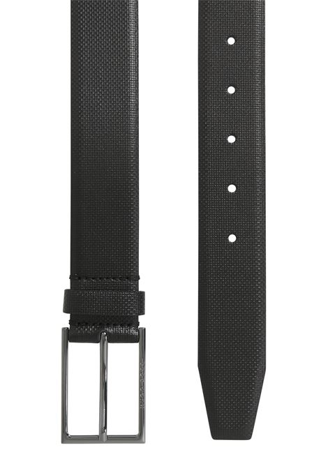 Leather belt with embossed detail BOSS | Belts | 50262032001