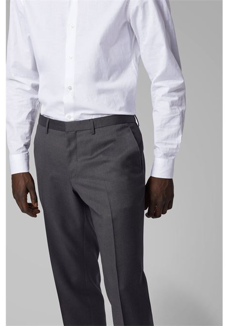 Extra-slim-fit trousers in virgin wool BOSS | Pants | 50320555021
