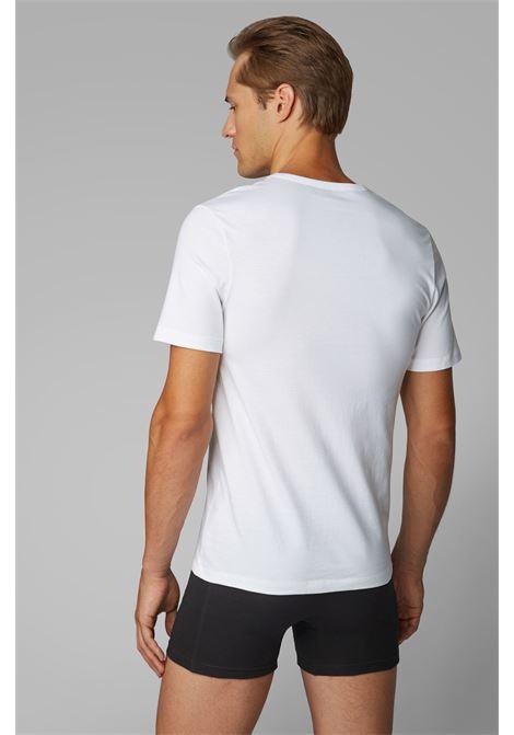 Three-pack V-neck cotton T-shirt BOSS | T-shirt | 50325389100