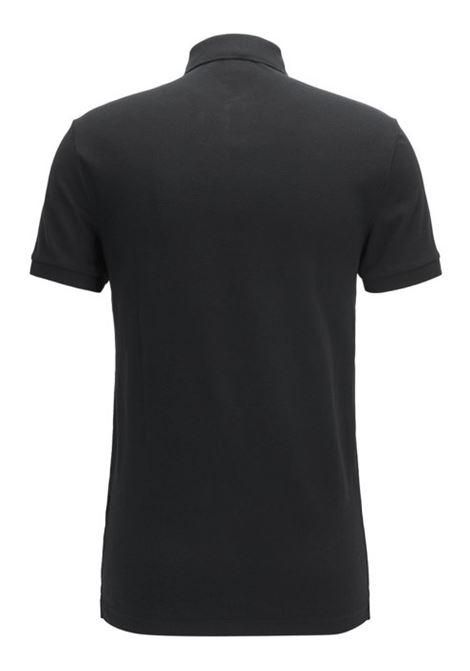Polo slim fit in piqué lavato con applicazione con logo BOSS | Polo | 50378334001