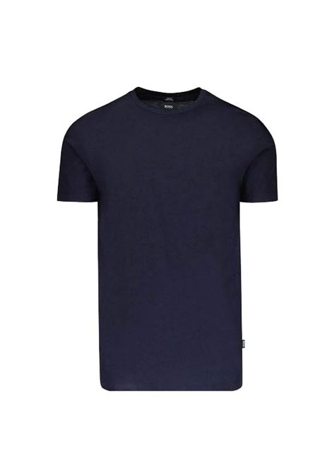 Slim-fit T-shirt in mercerised cotton BOSS | T-shirt | 50383822402