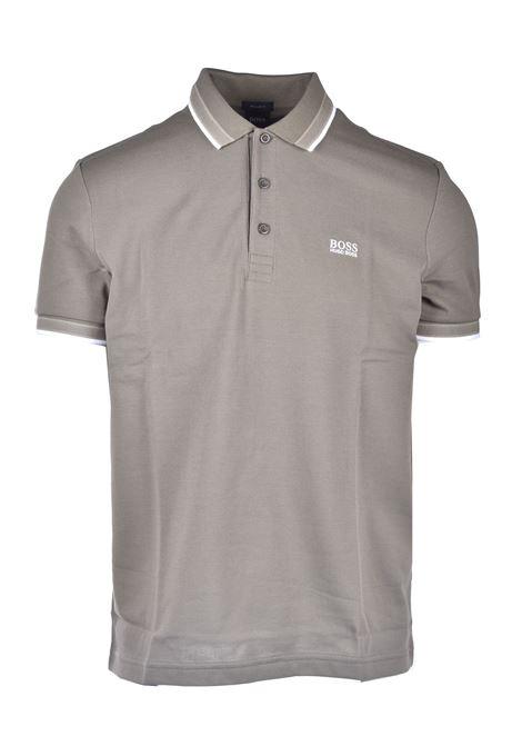 Cotton piqué polo shirt with contrasts BOSS | Polo Shirt | 50398302315