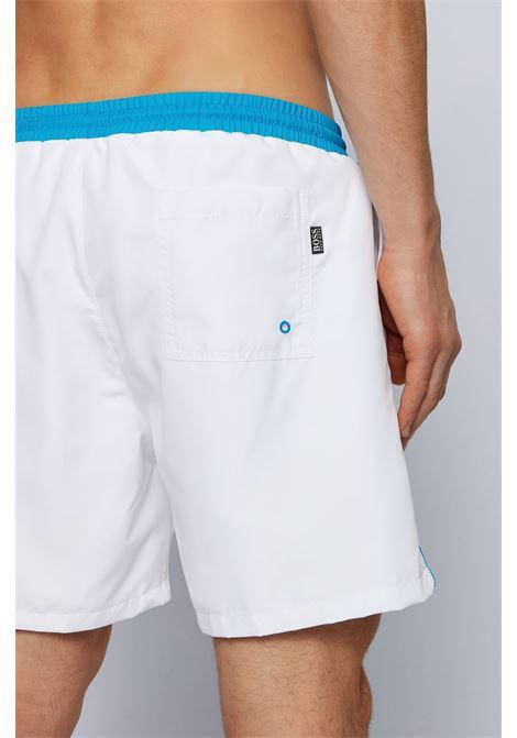 Quick-drying white swim shorts BOSS | Beachwear | 50408104105