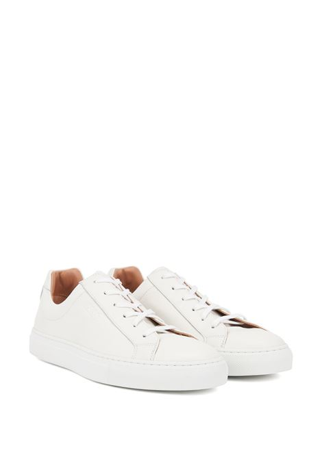 Low-top leather sneakers made in Italy BOSS | Sneakers | 50408148100
