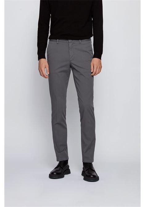 Chino slim fit in gabardine di cotone elasticizzato BOSS | Pantaloni | 50410310032