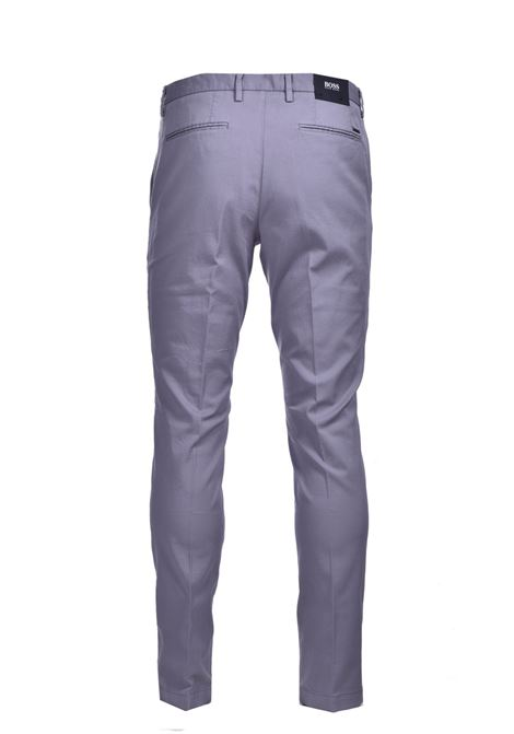 Slim fit chinos in stretch cotton gabardine BOSS | Pants | 50410310042