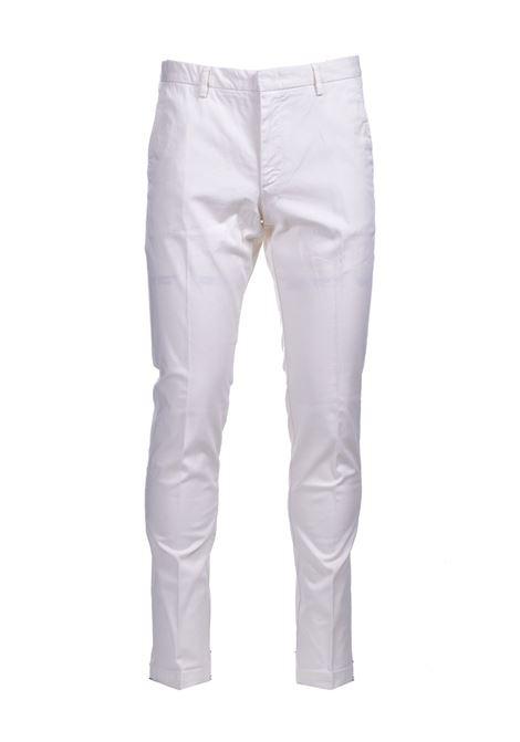 Chino slim fit in gabardine di cotone elasticizzato BOSS | Pantaloni | 50410310118
