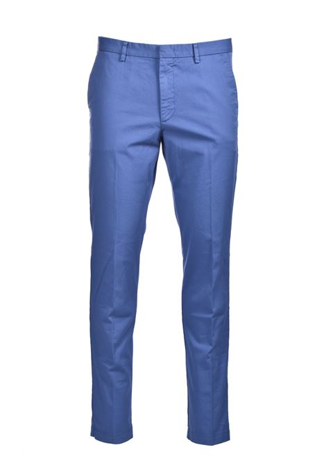Slim fit chinos in stretch cotton gabardine BOSS | Pants | 50410310489