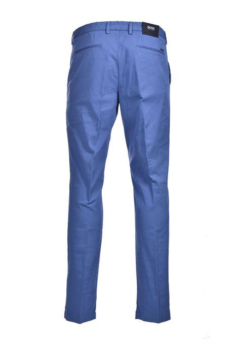 Chino slim fit in gabardine di cotone elasticizzato BOSS | Pantaloni | 50410310489