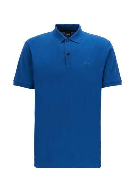 Polo pallas regular-fit two-button - blue BOSS | Polo Shirt | 50425985429