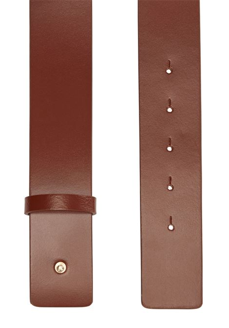 High leather belt with original buckle BOSS | Belts | 50429749224