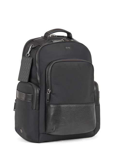 Laptop backpack with trolley strap BOSS | Borse a mano | 50437558001