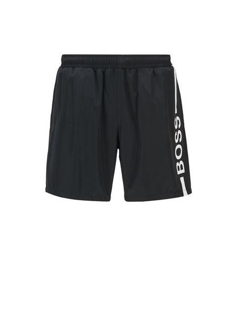 Boxer da mare in tessuto riciclato ad asciugatura rapida BOSS | Costumi | 50439746007