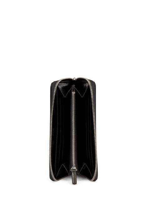 Portafoglio in pelle lavorata con chiusura a zip BOSS | Portafogli | 50441921001