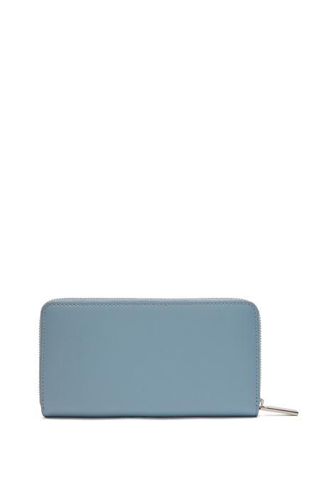 Portafoglio in pelle lavorata con chiusura a zip BOSS | Portafogli | 50441921450