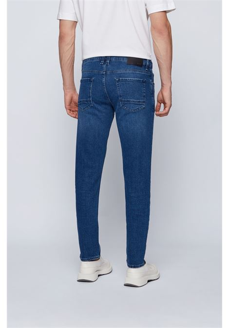 Charleston4 + Blue extra slim fit jeans in comfortable stretch denim BOSS | Jeans | 50443976415