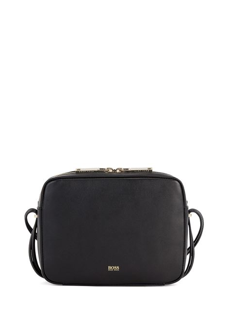 Shoulder bag in nappa leather with straps with metal ends BOSS | Bags | 50444343001