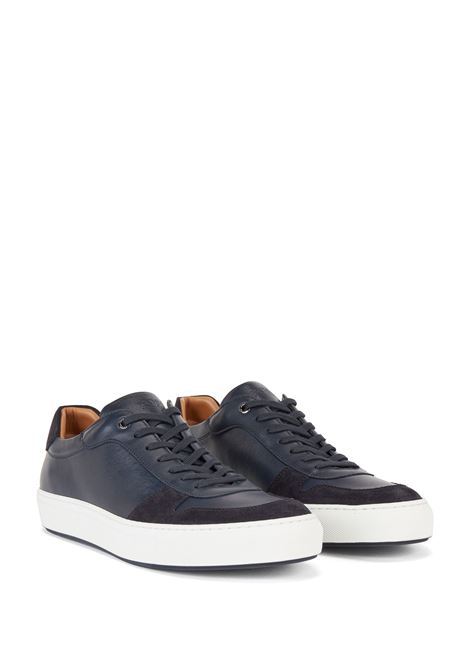 Sneakers in nappa e pelle scamosciata BOSS | Sneakers | 50445166401