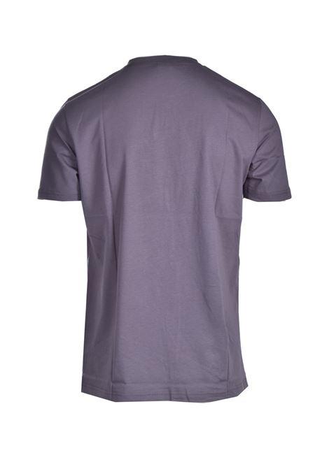 Cotton crewneck T-shirt with blurred style logo BOSS   T-shirt   50446472022
