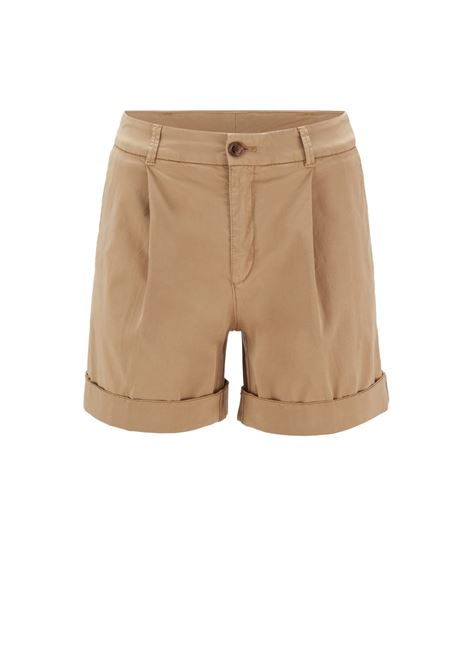 Relaxed fit chino shorts in organic stretch cotton BOSS | Shorts | 50447263262