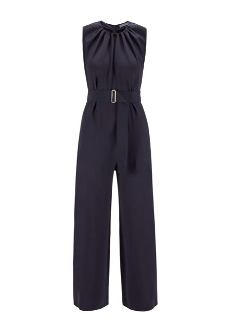Wide-leg sleeveless jumpsuit in satin-back crepe BOSS |  | 50447615466