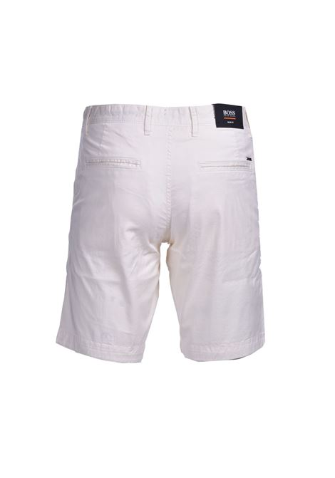 Bermuda slim fit in twill di cotone elasticizzato BOSS | Shorts | 50447772272