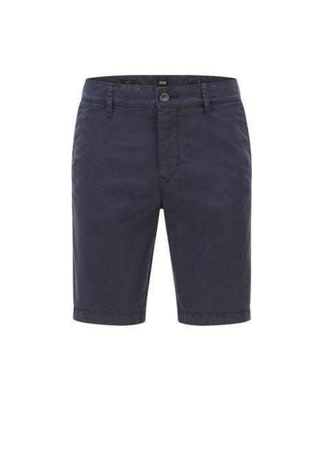 Slim fit Bermuda shorts in stretch cotton twill BOSS | Shorts | 50447772404