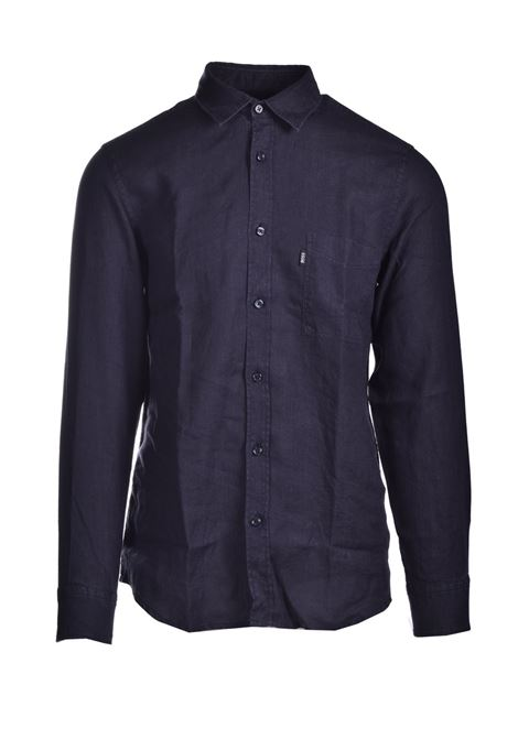 Regular fit shirt in pure linen BOSS | Shirts | 50447940001