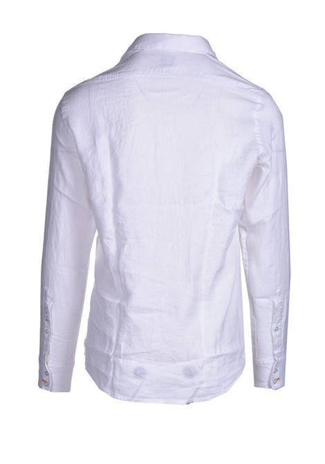 Regular fit shirt in pure linen BOSS | Shirts | 50447940100