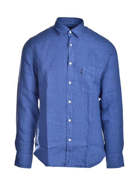 Regular fit shirt in pure linen BOSS | Shirts | 50447940489