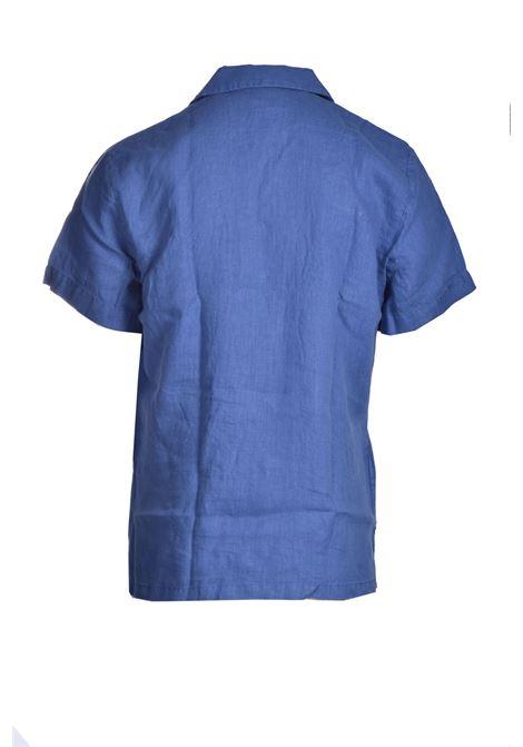 Regular fit short sleeve shirt in pure linen BOSS | Shirts | 50447959489