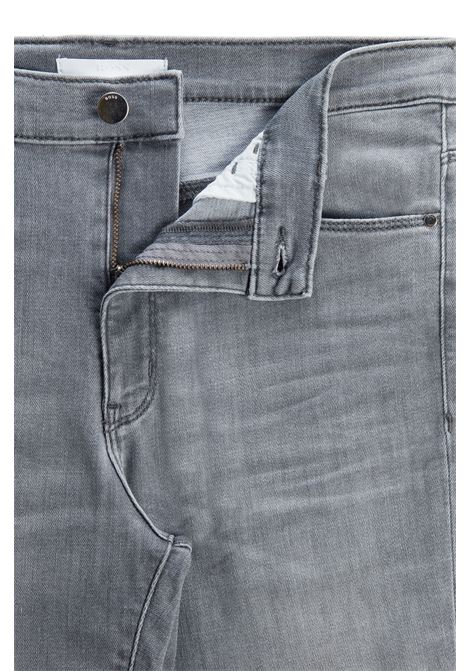 Skinny fit jeans in gray power stretch denim BOSS | Jeans | 50447969041