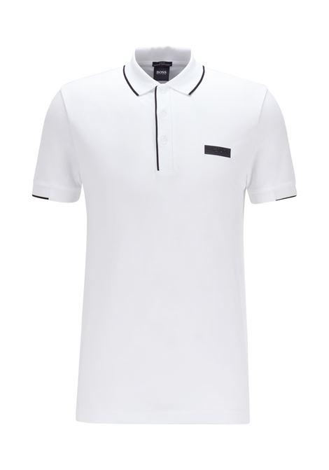 Slim fit polo shirt in S.Café® fabric BOSS   Polo Shirt   50448594100