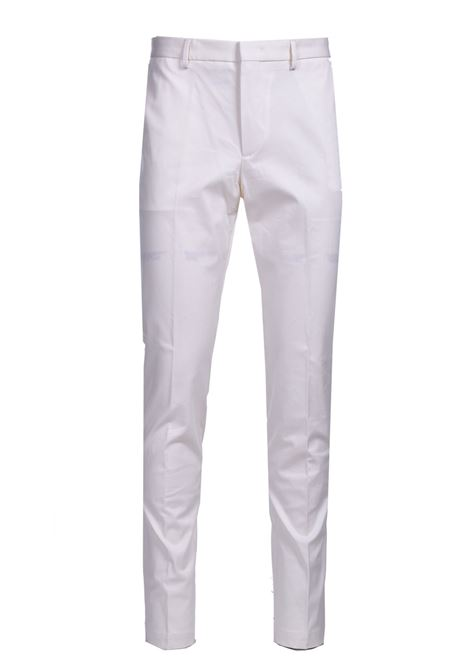 Slim fit chinos in stretch cotton dobby BOSS | Pants | 50448732118