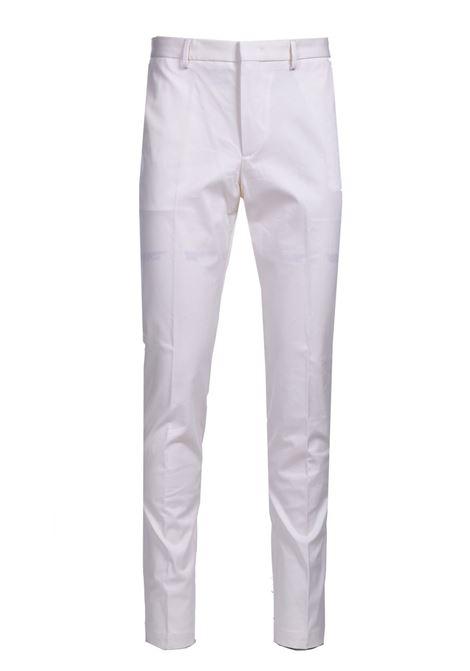 Chino slim fit in dobby di cotone elasticizzato BOSS | Pantaloni | 50448732118