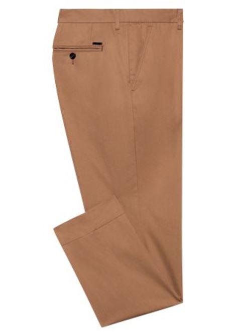 Pantaloni slim fit in popeline di cotone paper-touch BOSS | Pantaloni | 50448750268