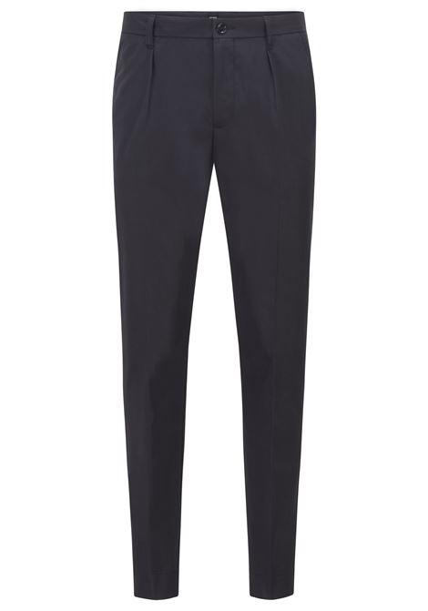 Pantaloni slim fit in popeline di cotone paper-touch BOSS | Pantaloni | 50448750402