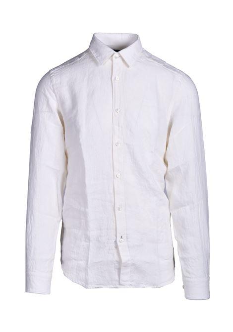 Regular fit shirt in pure linen BOSS | Shirts | 50448899118