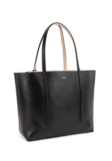 Borsa shopper reversibile in nappa con borsellino brandizzato BOSS | Shopping Bag | 50449120001