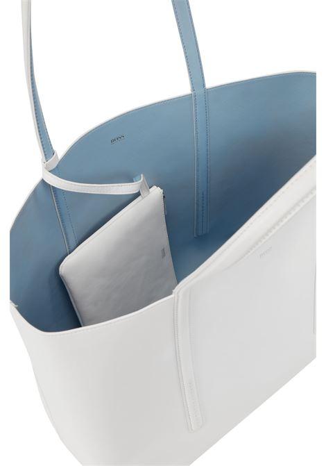 Borsa shopper reversibile in nappa con borsellino brandizzato BOSS | Shopping Bag | 50449120115