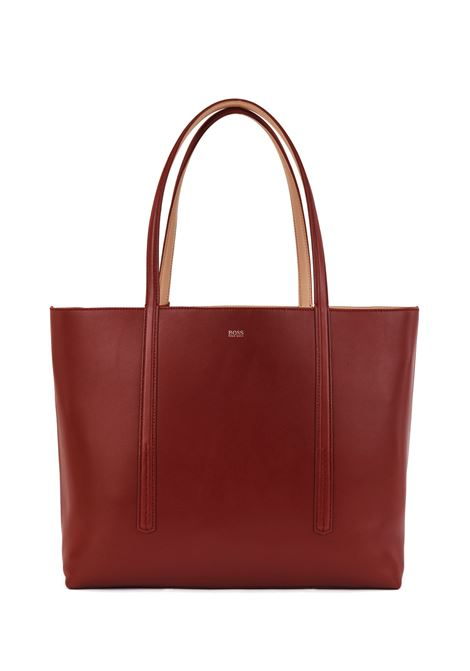 Borsa shopper reversibile in nappa con borsellino brandizzato BOSS | Shopping Bag | 50449120225