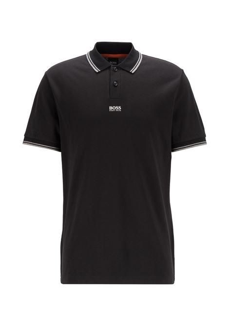 Polo in piqué di cotone con logo a sette strati BOSS | Polo | 50449367001