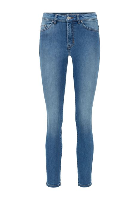 Skinny fit jeans in bright blue super stretch denim BOSS | Jeans | 50449515433