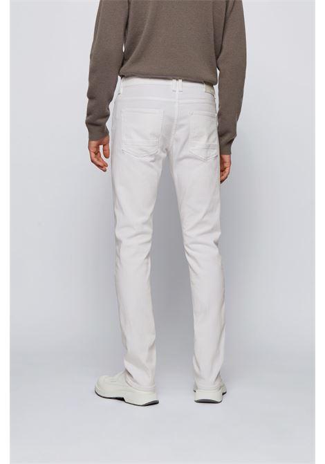 Slim fit jeans in super soft Italian stretch denim BOSS | Jeans | 50449671100