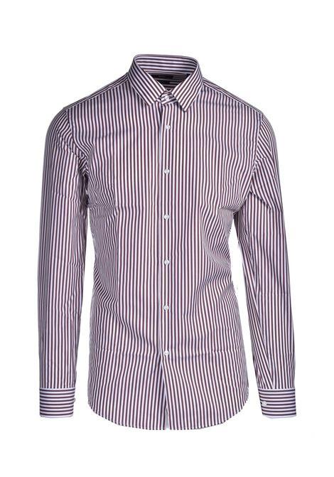 Slim fit striped cotton shirt BOSS | Shirts | 50450347228