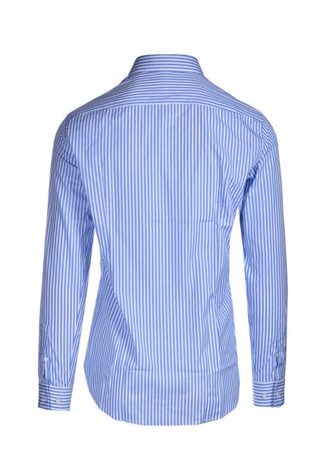 Slim fit striped cotton shirt BOSS | Shirts | 50450347452