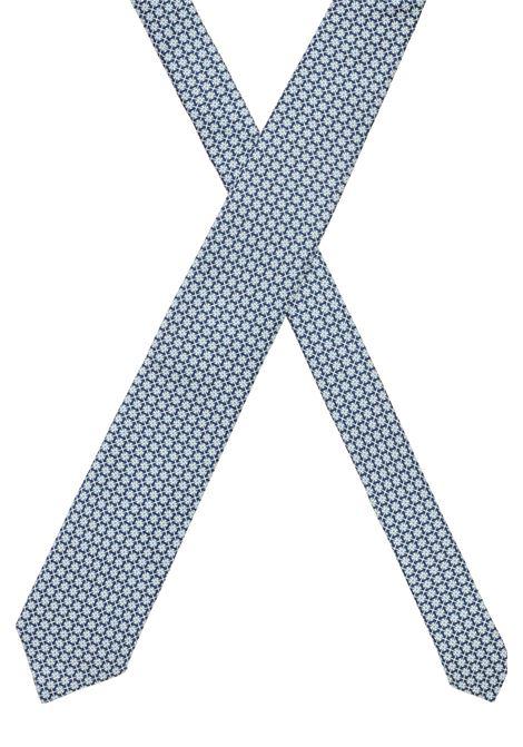 Micro-patterned jacquard silk tie BOSS | Ties | 50451729402